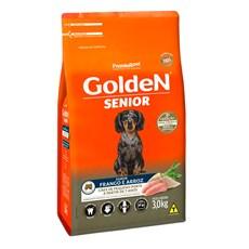 Ração Golden Fórmula Cães Adultos Sênior Mini Bits +7 Frango e Arroz