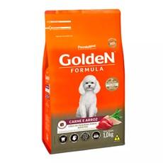 Ração Golden para Cães Adultos Carne e Arroz Mini Bits 15kg
