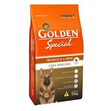 Ração Golden Special Sabor Frango E Carne Para Adultos 15kg