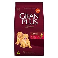 Ração Gran Plus Cães Menu Filhotes Carne e Arroz - 15Kg