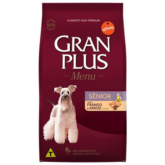 Ração Gran Plus Cães Menu Sênior - 15Kg