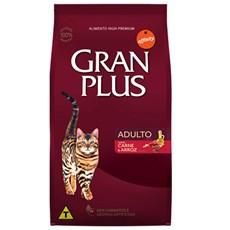 Ração Gran Plus Gatos Adultos Carne - 10,1Kg