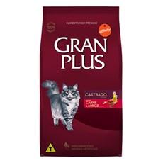 Ração Gran Plus Gatos Castrados Carne - 10,1Kg