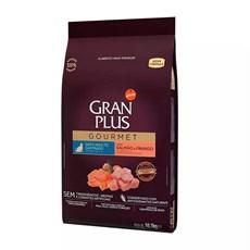 Ração Gran Plus Gourmet Gatos Castrados Salmão e Frango - 10,1Kg