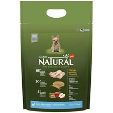Ração Guabi Natural Cães Filhotes Mini e Pequeno Frango e Arroz Integral - 1Kg