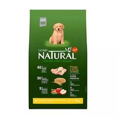 Ração Guabi Natural Cães Filhotes Raças Grandes e Gigantes Frango e Arroz Integral - 15Kg