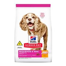 Ração Hill's Science Diet Cães Adultos 11+ Raças Pequenas e Minis – 2,4Kg