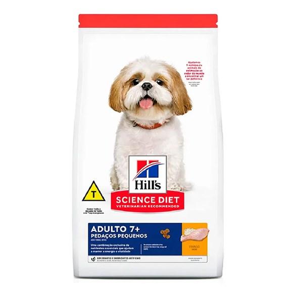 Ração Hill's Science Diet Cães Adultos 7+ Pedaços Pequenos – 800g