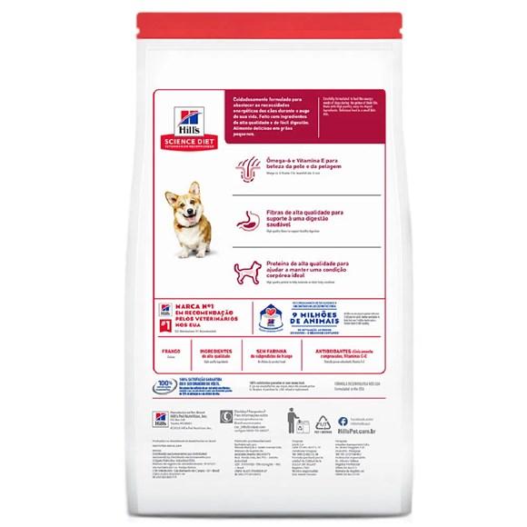 Ração Hill's Science Diet Cães Adultos Pedaços Pequenos – 2,4Kg