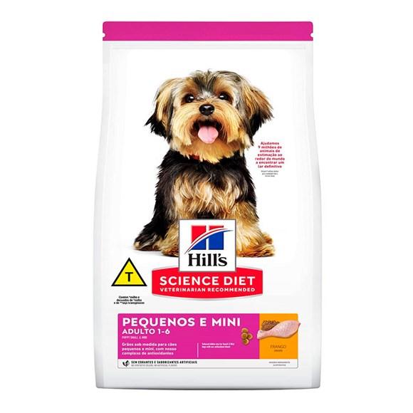 Ração Hill's Science Diet Cães Adultos Raças Pequenas e Mini – 800g