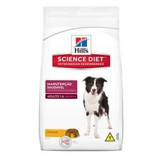 Ração Hills Cães Adultos Manutenção Saudável