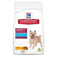 Ração Hills Cães Adultos Manutenção Saudável Pedaços Pequenos