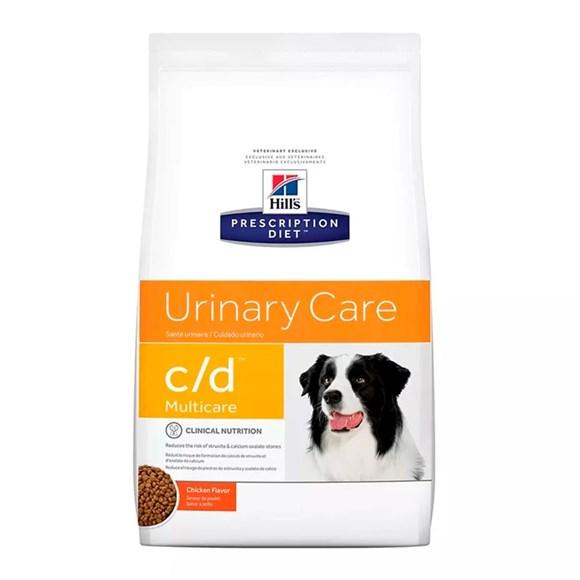 Ração Hills Cães C/D Multicare Cuidado Urinário - 3,8Kg