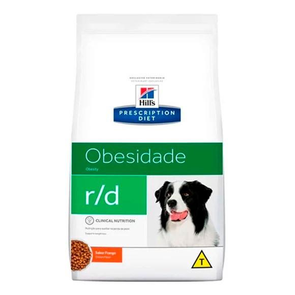 Ração HIlls Cães R/D Redução De Peso