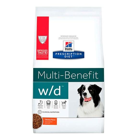 Ração Hills Cães W/D Controle Digestivo e Peso - 3,8Kg
