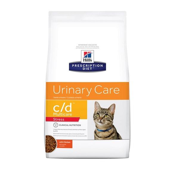 Ração Hills Gatos C/D Cuidado Urinário - 1,8kg