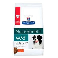 Ração Hill's Prescription Diet Cães W/D Controle Digestivo e Peso - 3,8Kg