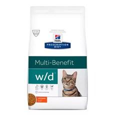 Ração Hill's Prescription Diet Gatos W/D Controle Digestivo e Peso - 1,8Kg
