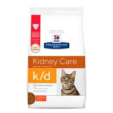 Ração Hills Prescription Diet K/D Cuidado Renal Para Gatos Adultos - 1,8kg