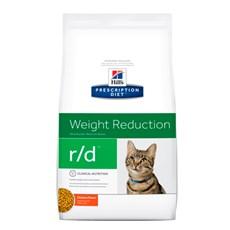 Ração Hills Prescription Diet R/D Perda de Peso Para Gatos Adultos - 1,8kg