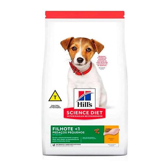 Ração Hill's Science Diet Cães Filhotes Pedaços Pequenos – 12kg