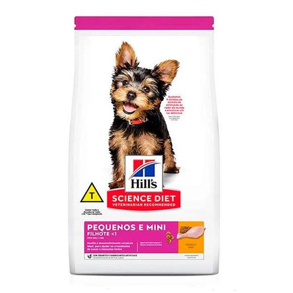 Ração Hills Science Diet Cães Filhotes Raças Pequenas e Mini – 2,4kg