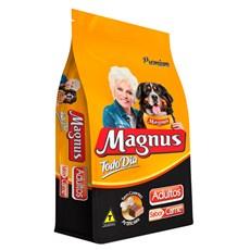 Ração Magnus Premium Cães Adultos Todo Dia Carne
