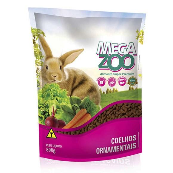 Ração Megazoo Coelhos Ornamentais - 500g