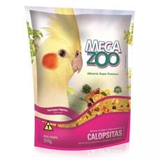 Ração Megazoo Extrusada Calopsitas Frutas e Legumes - 350g
