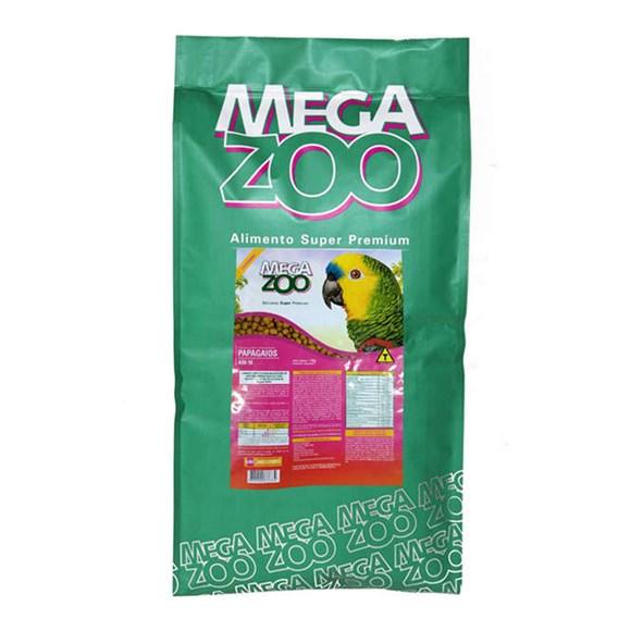 Ração Megazoo Extrusada Papagaios - 12kg