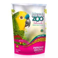 Ração Megazoo Extrusada Papagaios Regular - 600g