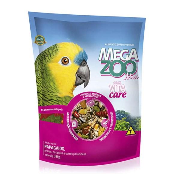 Ração Megazoo Mix Papagaio - 350g
