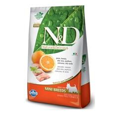 Ração N&D Grain Free Cães Adultos Mini Peixe