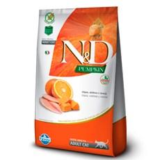 Ração N&D Pumpkin Gatos Adultos Tilapia - 1,5kg