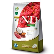 Ração N&D Quinoa Cães Adultos Skin Pato – 800g