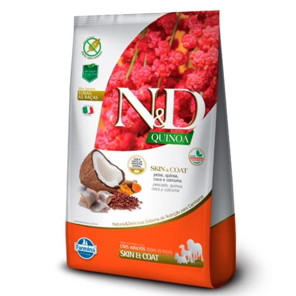 Ração N&D Quinoa Cães Adultos Skin Peixe