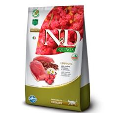 Ração N&D Quinoa Gatos Adultos Urinary Pato - 7,5kg