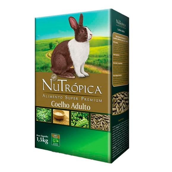 Ração Nutrópica Coelho Adulto - 1,5kg
