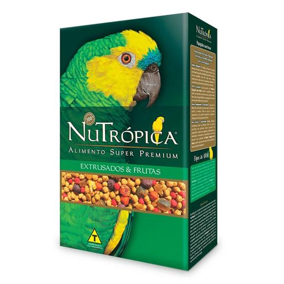 Ração Nutrópica Papagaio Com Frutas - 1,2Kg