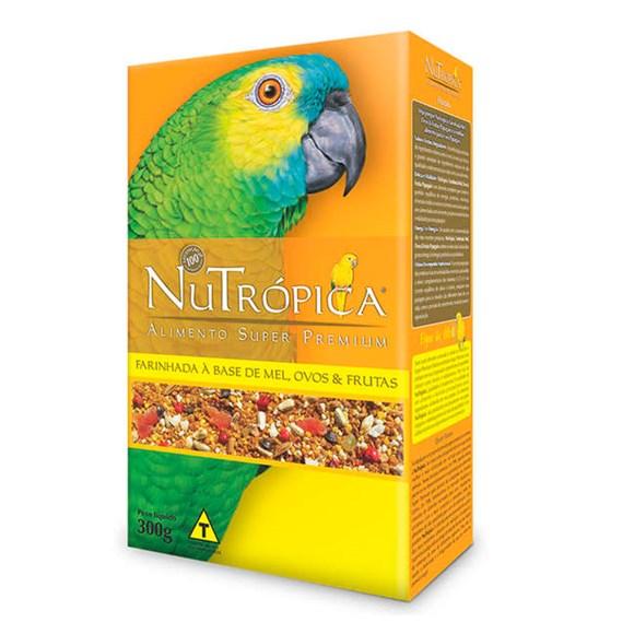 Ração Nutrópica Papagaio Farinhada com Mel e Ovos – 300g
