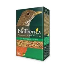 Ração Nutrópica Para Aves Sabiá E Pássaro Preto 300g