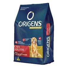 Ração Origens Cães Adultos Carne e Cereais