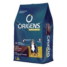 Ração Origens Cães Adultos Carne e Cereais Raças Grandes