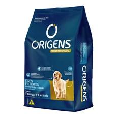 Ração Origens Cães Filhotes Frango e Cereais Raças Médias e Grandes - 15kg