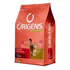 Ração Origens Gatos Adultos Carne - 10,1kg