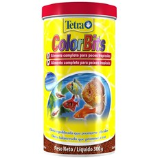 Ração Para Peixe Tetra Colorbits Granules 300gr