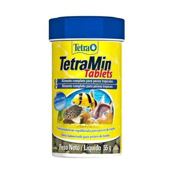 Ração Para Peixes De Fundo Tetramin Tablets - 55g
