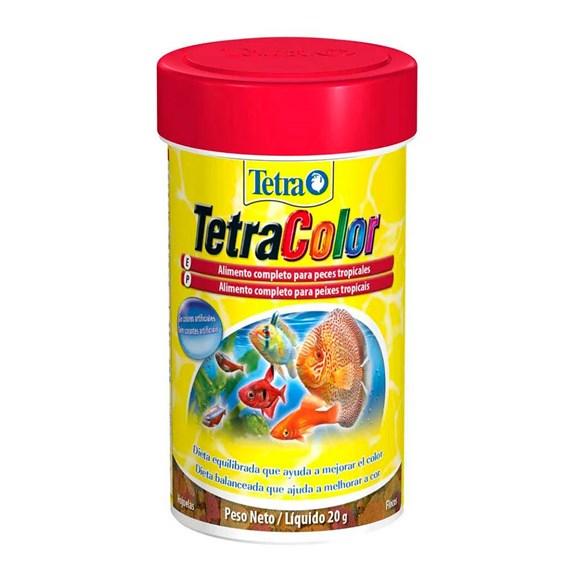 Ração para Peixes Tetra Color Flakes - 20g