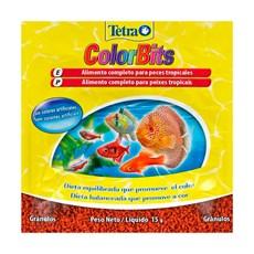 Ração para Peixes Tetra Colorbits Granules Sachê - 15g