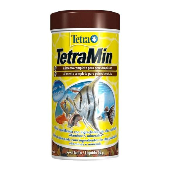 Ração Para Peixes TetraMin Flakes - 52g